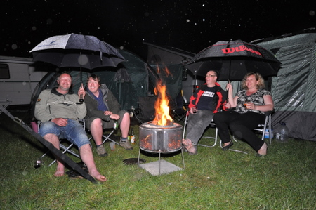 Around the Zanussi Campfire