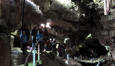 Inside Poole Cavern